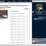 Sherlock Holmes Hörbuch im Streaming